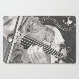 The Note Waltz Cutting Board
