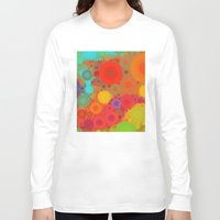 circles Long Sleeve T-shirts featuring Circles by Mr and Mrs Quirynen