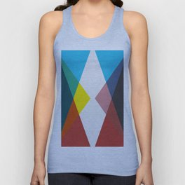 Colorful contemporary art I Unisex Tank Top