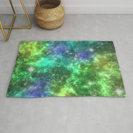 Cold Space Sparkles Rug