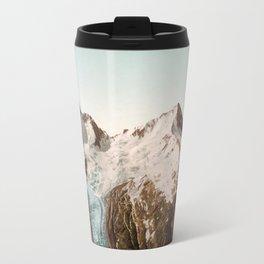 Vintage Mountain Peaks Travel Mug