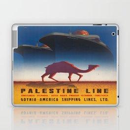 Vintage poster - Palestine Line Laptop & iPad Skin