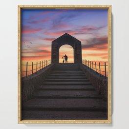 Pont Del Diable Serving Tray