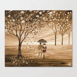 Couples in Love Canvas Print