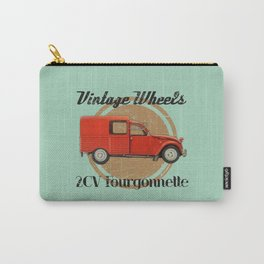 Vintage Wheels: Citroën 2CV Fourgonnette Carry-All Pouch