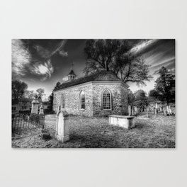 Old Dutch Church Of Sleepy Hollow Canvas Print