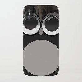 Gothic owl iPhone Case