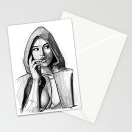 Monica Bellucci - Little Red Riding Hood Stationery Cards