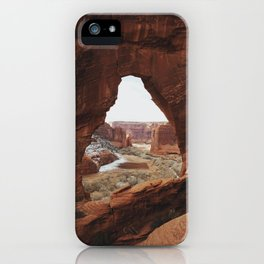 Window Rock iPhone Case