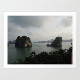Ha Long bay, Vietnam Art Print