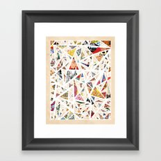 Chaotic Dreams Framed Art Print