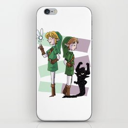 The Fairy and The Imp iPhone Skin