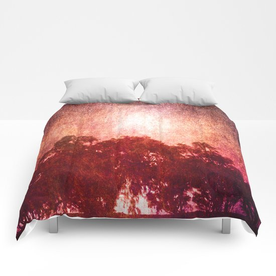 Waves of Light Comforters