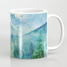 Spring Mountainscape Coffee Mug
