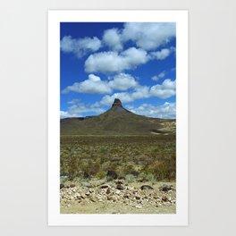 Route 66 - Arizona Mountain 2007 Art Print
