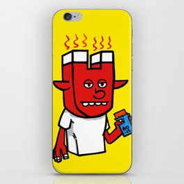 enigmatic todd iPhone Skin