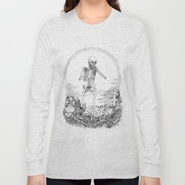 Death and Harmonica Long Sleeve T-shirt