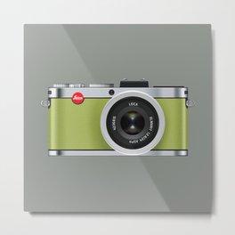 Leica X1 Camera Metal Print