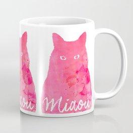 MIAOU rose Coffee Mug