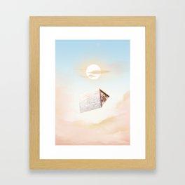A Frame Framed Art Print