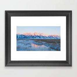 Warm Spring Sunrise Framed Art Print