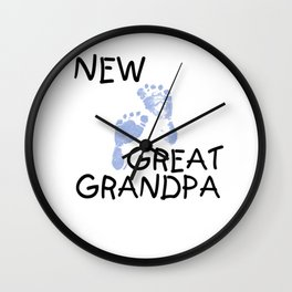 New Great Grandpa Wall Clock