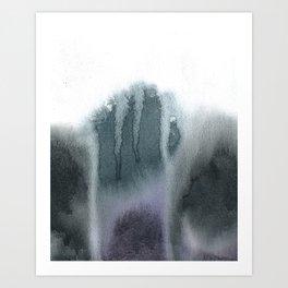 Waercolor Abstrakt Art Print