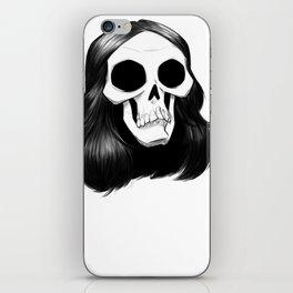 Raven Skull iPhone Skin