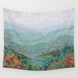 Blue Ridge October Wall Tapestry