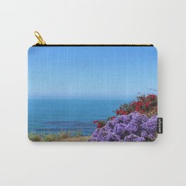 Flowers on a California Coast Carry-All Pouch