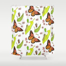 Monarch Migration Shower Curtain