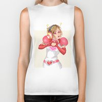 valentines Biker Tanks featuring Happy Valentines! by Elisa FS