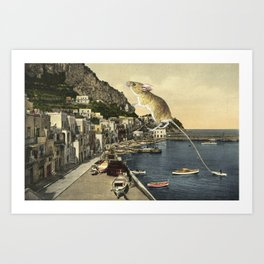 All that's bewitching by the water Art Print