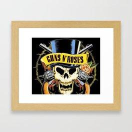 Guns N' Roses tour 2017 ty1 Framed Art Print
