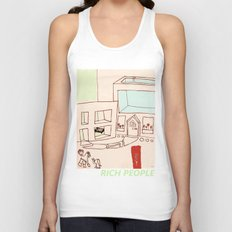 Rich People Unisex Tank Top