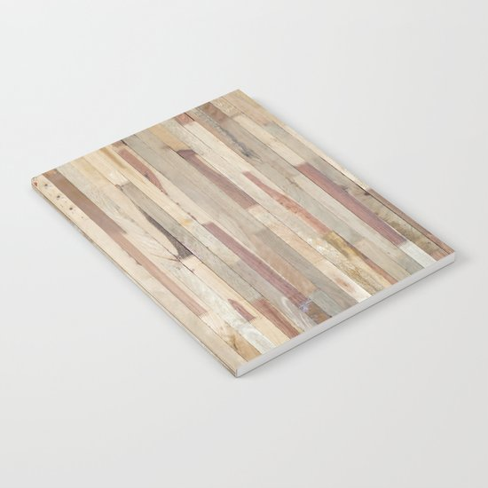 Wood Planks Notebook