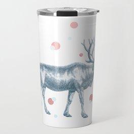 Rudolf on the roof Travel Mug