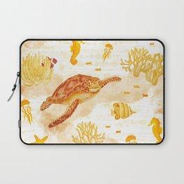 Hawksbill Sea Turtles Laptop Sleeve