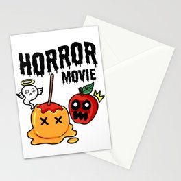 love apple Paradies Horror Movie Halloween Fruit Gift Present Scarry Chocolate Stationery Cards