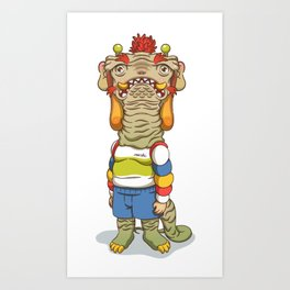 Mr.Dragon Art Print