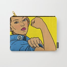 Latina Rosie The Riveter Carry-All Pouch