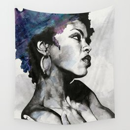 Miseducation: Lauryn Hill tribute portrait Wall Tapestry