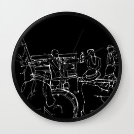 The great Satchmo Wall Clock
