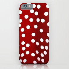 Red Polka Dots Slim Case iPhone 6s