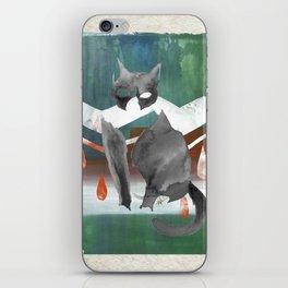 Piki the Mighty Kat. III iPhone Skin