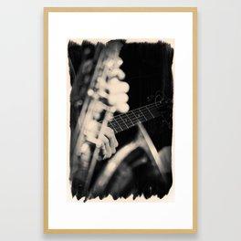 Jazz Music Framed Art Print