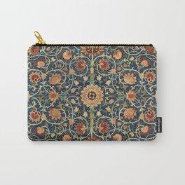 William Morris Floral Carpet Print Carry-All Pouch