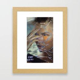 tres  l3ches Framed Art Print