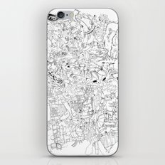 Fragments of memory iPhone & iPod Skin