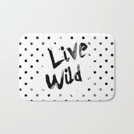 Live Wild Bath Mat